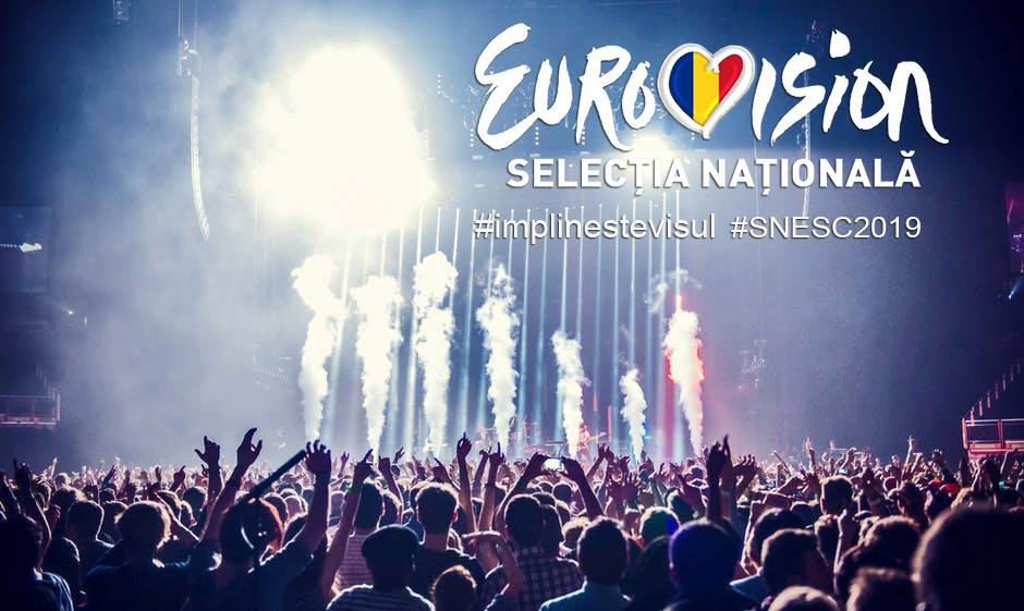 photo of crowd at the Eurovision 2019 Romanian national selection
