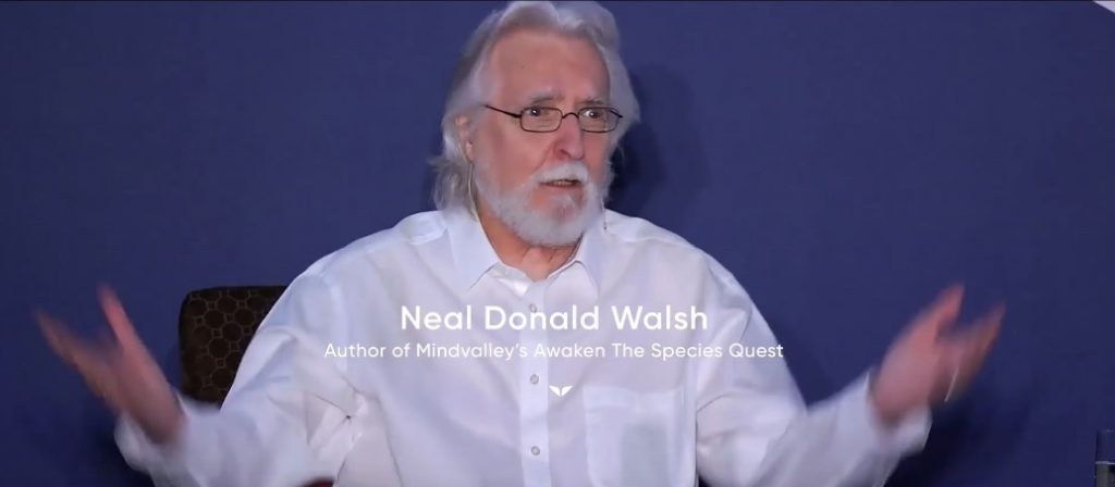 photo of speaker Neale Donald Walsch
