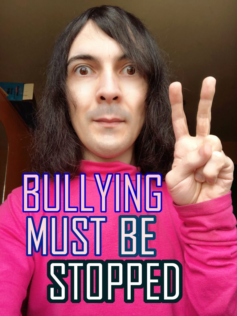 Bullying Must Be Stopped Photo Peace Sign Lucian Hodoboc
