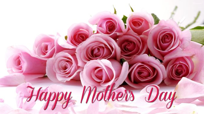 Happy Mothers Day Image Pink Roses