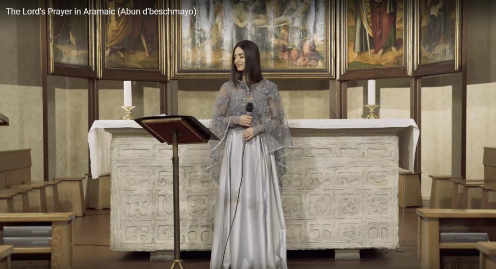 Sarah Ego (Eliyo) - The Lord's Prayer in Aramaic Abun d'beschmayo