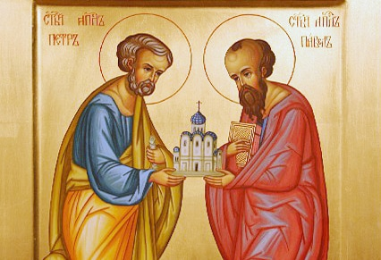 Apostles Saints Peter and Paul Orthodox icon