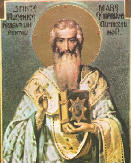 Saint Cyprian Of Nicomedia icon
