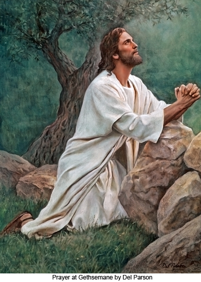 Who did Jesus pray to, if He was God?