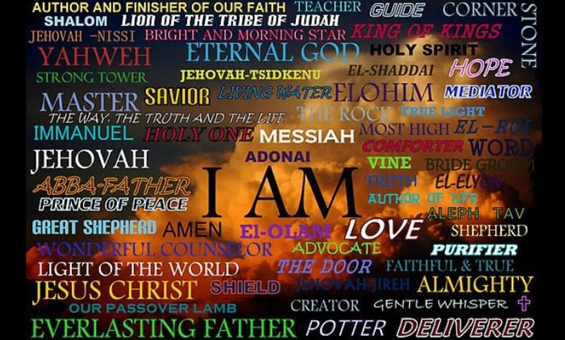 About The Names Of God