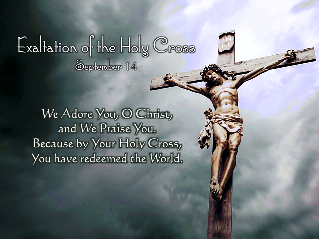 The Feast Of The Exaltation Of The Holy Cross, 2019