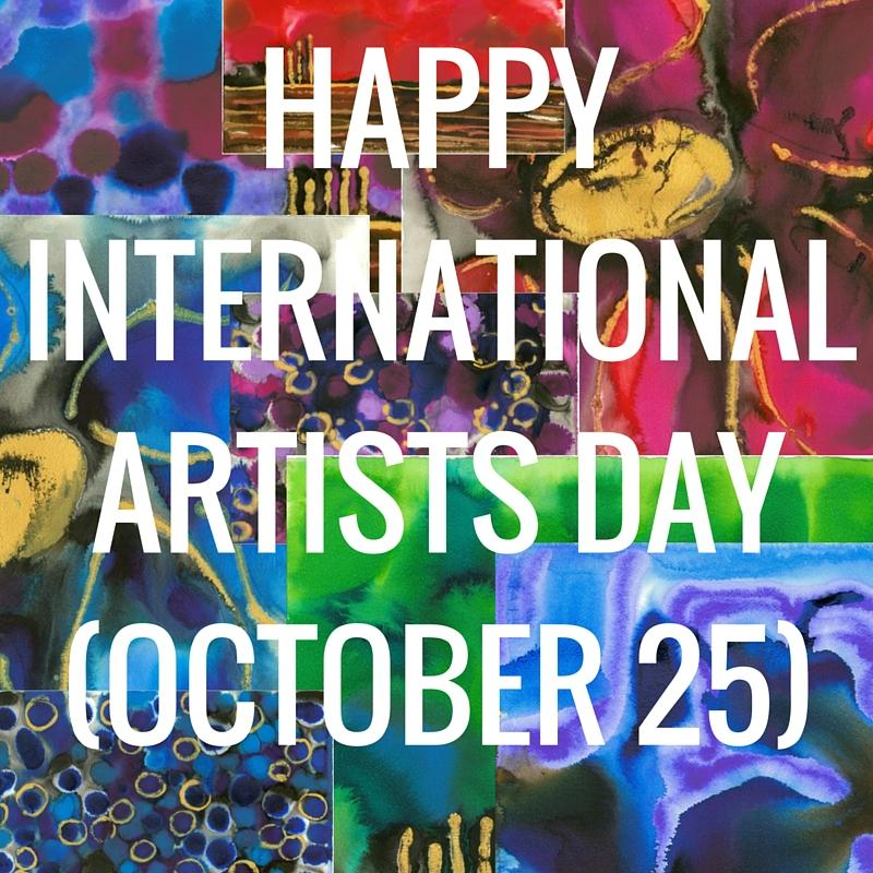 Happy International Artists Day October 25