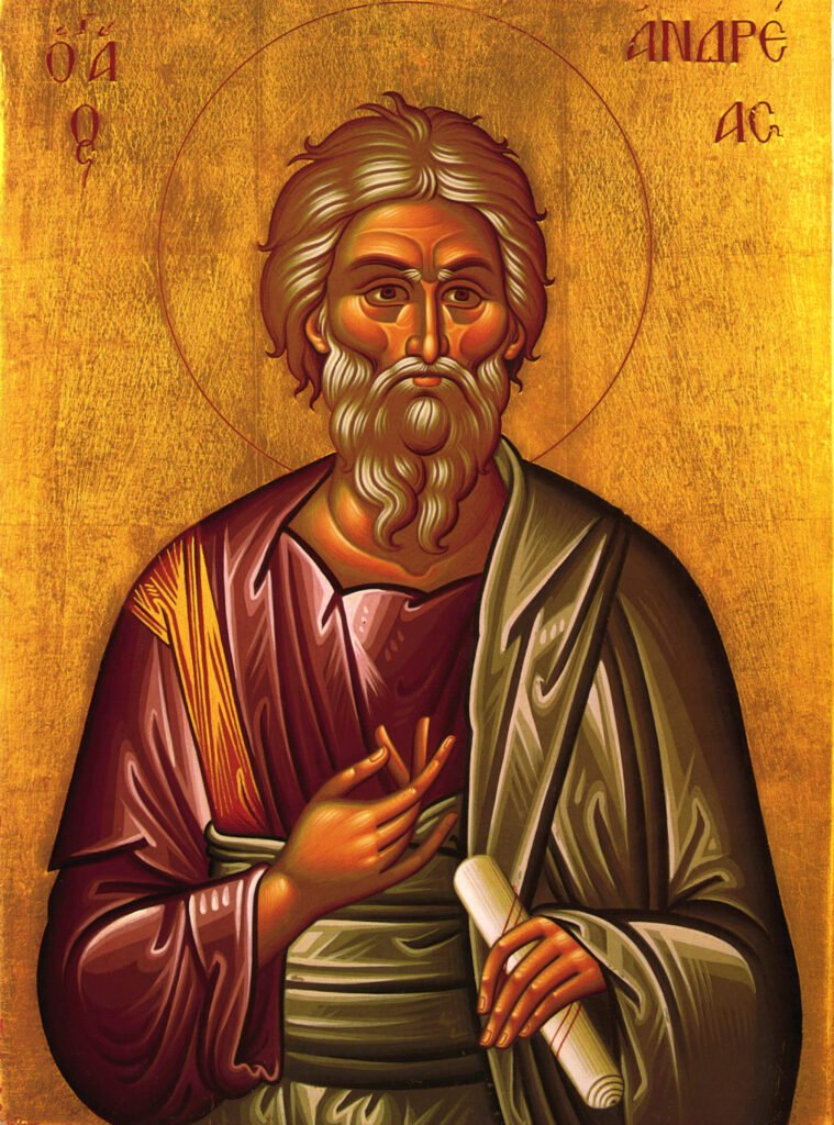 Saint Andrew Icon Orthodox