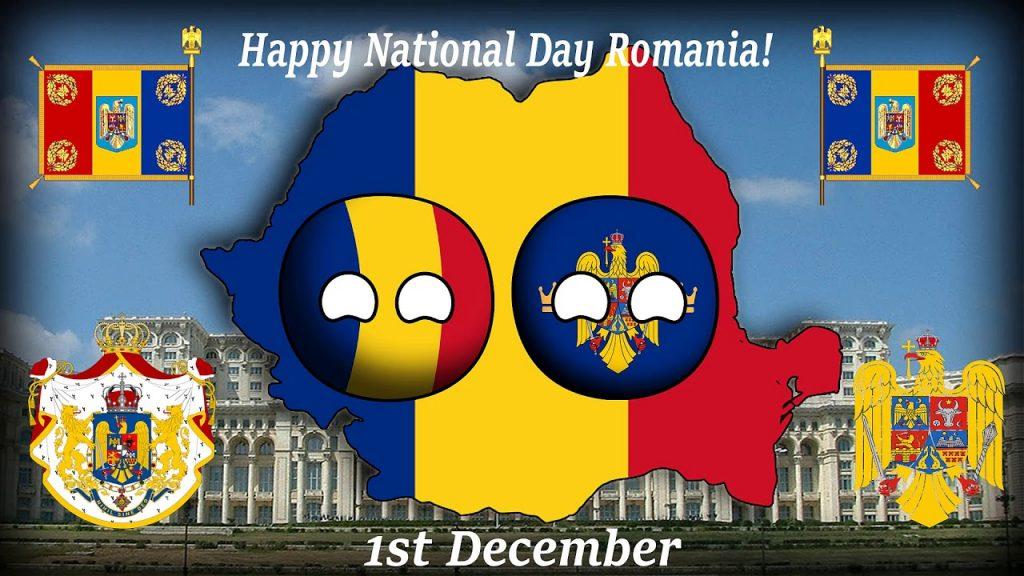 Happy National Day Romania