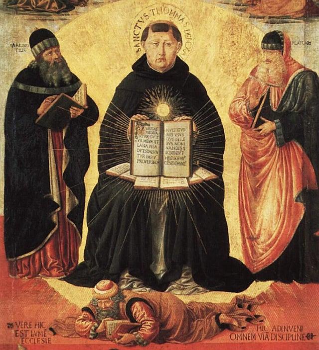 Saint Thomas Aquinas icon