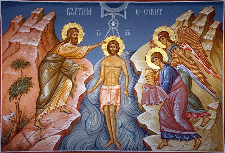 The Feast of the Holy Epiphany Baptism Jesus Christ Orthodox