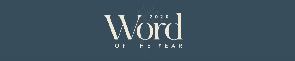Word of the year 2020