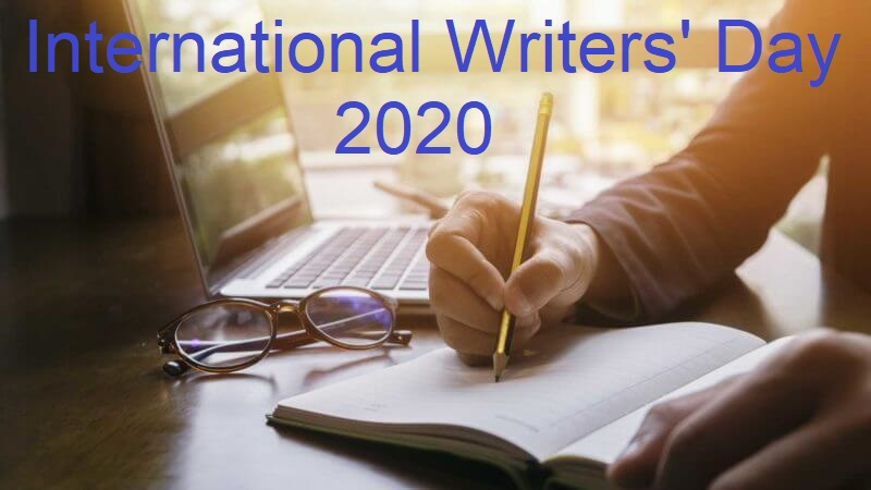 International Writers Day banner