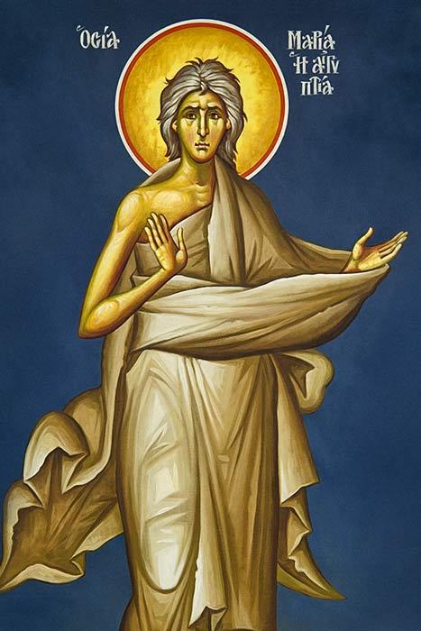Saint Mary Of Egypt icon
