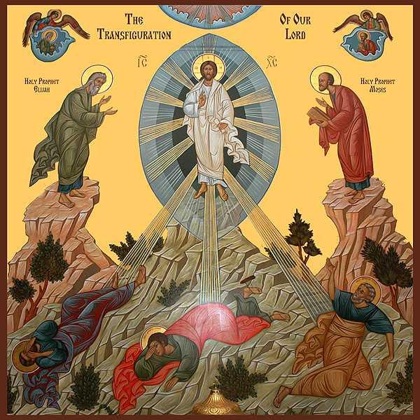 The Transfiguration Orthodox Icon
