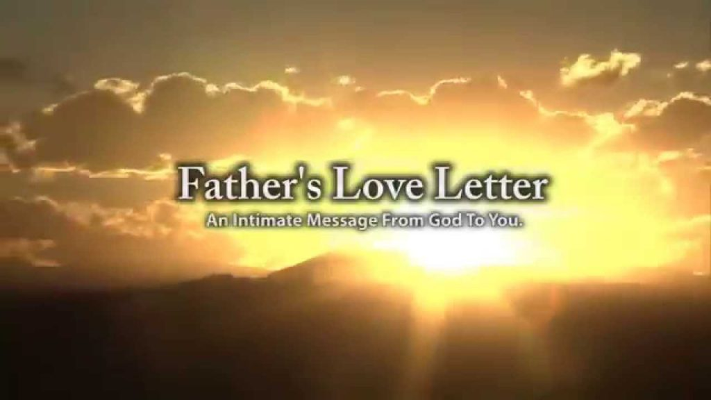Barry Adams Father's Love Letter - An Intimate Message From God To You