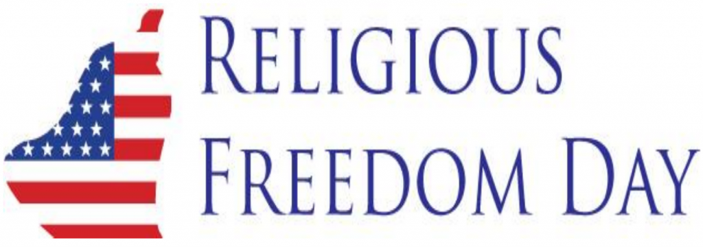 Religious Freedom Day banner 2021
