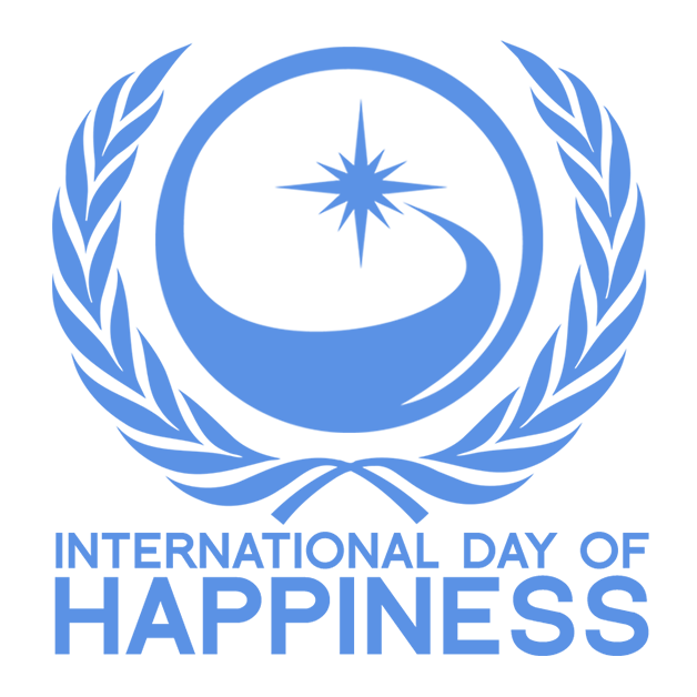 International Day Of Happiness logo 2021