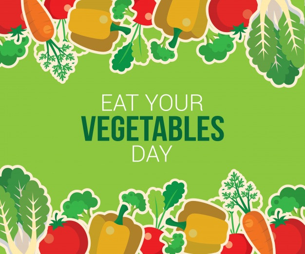 Happy Eat Your Vegetables Day, 2021